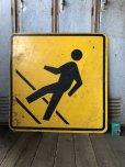 画像6: Vintage Road Sign CROSS WALK (T635)