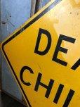 画像3: Vintage Road Sign DEAF CHILD (T650)