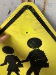 画像2: Vintage Road Sign CROSS WALK (T638) (2)