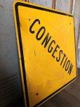 画像4: Vintage Road Sign CONGESTION (T622)