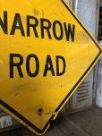 画像4: Vintage Road Sign NARROW ROAD (T648)