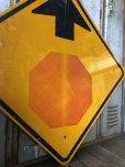 画像4: Vintage Road Sign ↑ (T634)