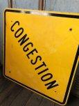 画像5: Vintage Road Sign CONGESTION (T622)