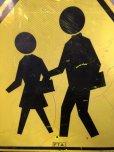 画像5: Vintage Road Sign CROSS WALK (T638)