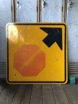 画像7: Vintage Road Sign ↑ (T634)