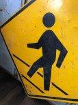 画像3: Vintage Road Sign CROSS WALK (T635)