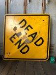 画像7: Vintage Road Sign DEAD END (T641)