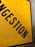 画像6: Vintage Road Sign CONGESTION (T622)