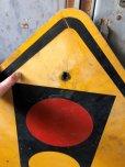 画像2: Vintage Road Sign TRAFFIC SIGNAL (T640) (2)