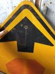 画像2: Vintage Road Sign ↑ (T634) (2)