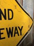 画像3: Vintage Road Sign BLIND DRIVEWAY (T651)