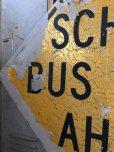 画像3: Vintage Road Sign SCHOOL BUS STOP AHEAD (T626)