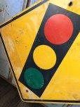 画像3: Vintage Road Sign TRAFFIC SIGNAL (T640)