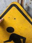 画像2: Vintage Road Sign CROSS WALK (T635) (2)