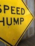 画像4: Vintage Road Sign SPEED HUMP (T649)