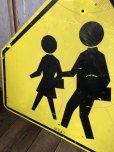 画像3: Vintage Road Sign CROSS WALK (T638)