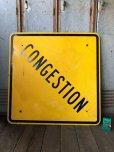 画像3: Vintage Road Sign CONGESTION (T622)