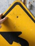 画像2: Vintage Road Sign ↰  (T632) (2)
