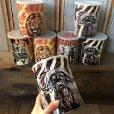 画像7: Vintage Safari Coffee Animal Tin Can Cape Buffalo (T656)