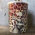 画像2: Vintage Safari Coffee Animal Tin Can African Elephant (T660) (2)