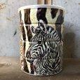 画像1: Vintage Safari Coffee Animal Tin Can Cape Buffalo (T656) (1)