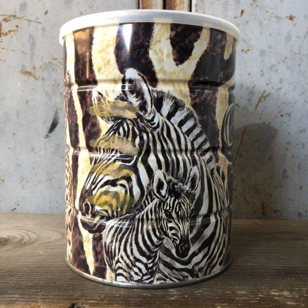 画像2: Vintage Safari Coffee Animal Tin Can Cape Buffalo (T655)