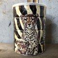 Vintage Safari Coffee Animal Tin Can Cape Buffalo (T657)