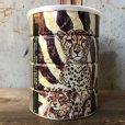 画像3: Vintage Safari Coffee Animal Tin Can Cape Buffalo (T655)