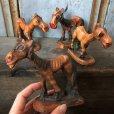 画像8: Vintage Laughing Donkey Ceramic Statue (T663)