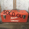 Vintage Tool Box Milwaukee Sawzall (T667)