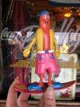 画像1: 1993 Vintage Nathan's Hot Dog Franksters Bendable Figure (T690) (1)