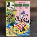 80s Vintage Comic Mickey Mouse (S762)