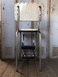 画像5: Vintage Mid-Century Step Stool Hi-Chair (T784)