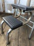 画像11: Vintage Mid-Century Step Stool Hi-Chair (T784)