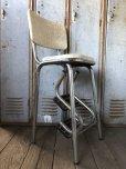 画像6: Vintage Mid-Century Step Stool Hi-Chair (T784)