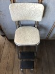画像9: Vintage Mid-Century Step Stool Hi-Chair (T784)