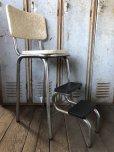 画像7: Vintage Mid-Century Step Stool Hi-Chair (T784)