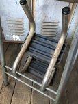 画像10: Vintage Mid-Century Step Stool Hi-Chair (T784)