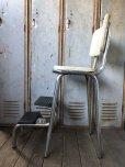 画像4: Vintage Mid-Century Step Stool Hi-Chair (T784)