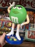 画像1: Vintage M&M's Dispenser Green (T782)  (1)