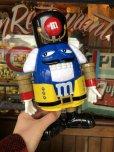 画像1: Vintage M&M's Dispenser Nutcracker Blue (T797)  (1)