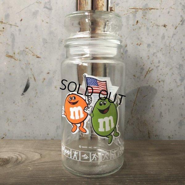 画像2: Vintage M&M's L.A. OLYMPIC Glass Candy Jar (T789)