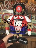 Vintage M&M's Dispenser Nutcracker Red (T798)