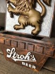 画像3: Vintage Stroh's Beer Lighted Sign SET (T791)