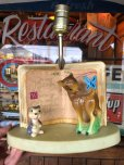 画像2: 【SALE】 Vintage Lamp Disney Bambi (T796) (2)