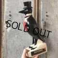 Vintage Old Crow Whiskey Decanter Bottle (T799)