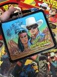 画像1: Vintage Lunch Box The Legend of the Lone Ranger (J403) (1)