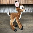 画像5: Vintage Plush Doll Disney Bambi 47cm (T861)