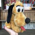 Vintage Plush Doll Disney Pluto 27cm (T853)