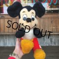 Vintage Plush Doll Disney Mickey Mouse (T850)